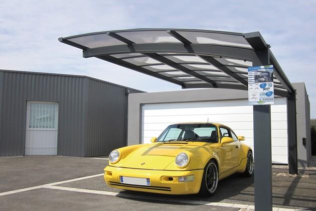Sundgau MBJ Diffusion carpot design aluminium abri voiture haut rhin 68