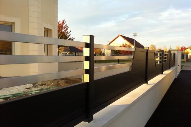 Sundgau MBJ Diffusion clôtures aluminium design haut rhin 68