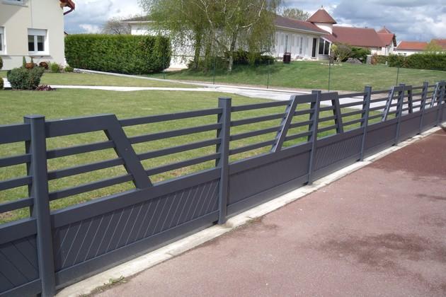 Sundgau MBJ Diffusion clôtures design aluminium haut rhin 68