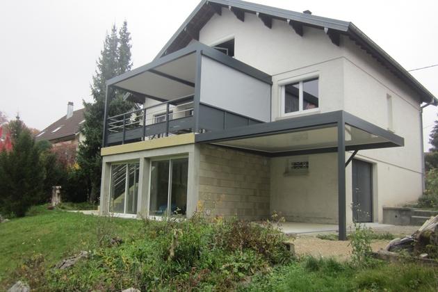 Sundgau MBJ Diffusion pergola à toiture fixe haut rhin 68 2