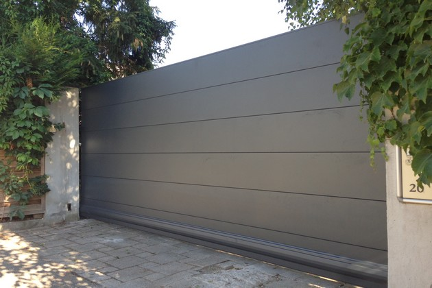 Sundgau MBJ Diffusion portail aluminium gris design haut rhin 68 (6) (1)