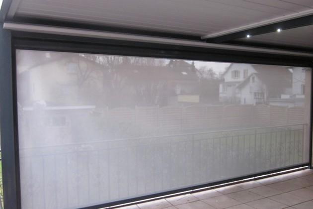 Sundgau MBJ Diffusion store extérieur vertical zip et pergola haut rhin 68