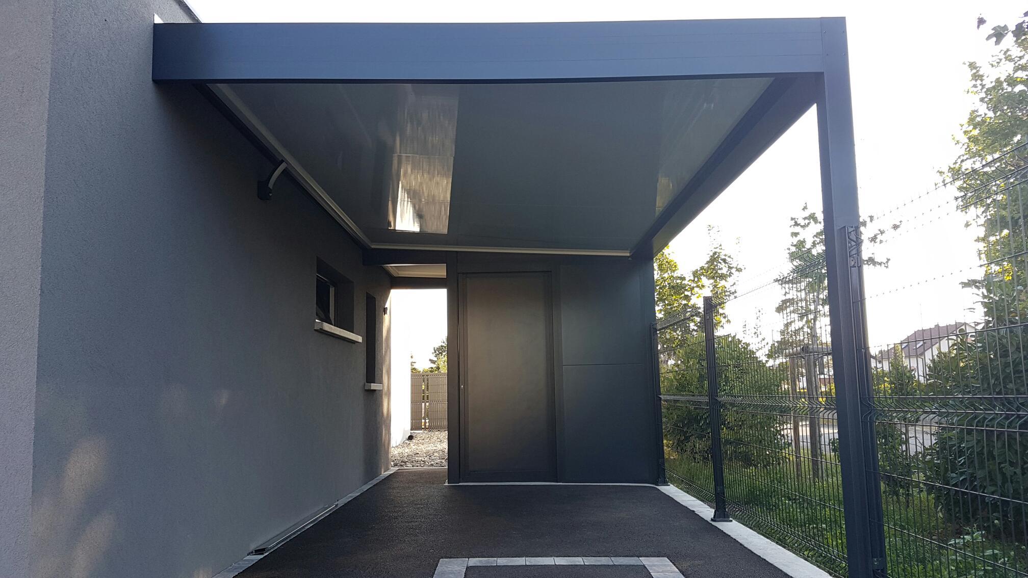 Carport thermotop